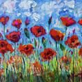 Poppies by Maxim Komissarchik
