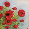 Poppin Poppies by Lorrie T Dunks