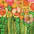 Poppy Bloomies 2 - Orange by Carol Cavalaris