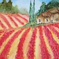 Poppy Fields by Maris Sherwood
