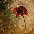 Poppy In The Dawn by V R