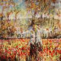 Poppy Scarecrow by Dariusz Orszulik