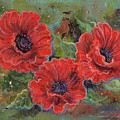 Poppy Splendor by Renee Lavoie