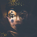 Porcelain Doll. Performing Arts Event by Jorgo Photography - Wall Art Gallery