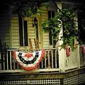 Porch Flag by Michael L Kimble