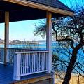 Porch View In Annisquam by Harriet Harding