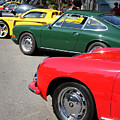 Porche Row by Wingsdomain Art and Photography