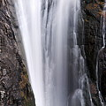Porcupine Falls Closeup by Larry Ricker