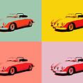 Porsche 356 Pop Art Panels by Dan Sproul