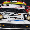 Porsche 911 Rsr Le Mans by Roberto Muccilo