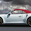 Porsche 911 Turbo S With Clouds by Nick Gray
