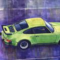 Porsche 911 Turbo Green by Yuriy Shevchuk