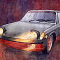 1970 Porsche 914 by Yuriy Shevchuk