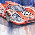 Porsche 917k Winning Le Mans 1970 by Yuriy  Shevchuk