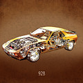 Porsche 928 1980 by Mark Rogan
