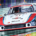 Porsche 935 Coupe Moby Dick Martini Racing Team by Yuriy  Shevchuk