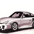 Porsche by Alban Dizdari