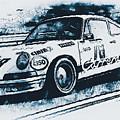 Porsche Carrera Rsr, 1973 - 06 by Andrea Mazzocchetti