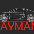Porsche Cayman Phone Case by Mark Rogan