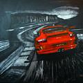Porsche Gt3 Le Mans by Richard Le Page