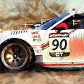 Porsche Gt3 Martini Racing - 01 by Andrea Mazzocchetti