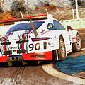 Porsche Gt3 Martini Racing - 02 by Andrea Mazzocchetti