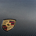 Porsche Logo On Carbon Front Boot Lid by 2bhappy4ever