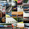 Porsche Oldtimer Collage by 2bhappy4ever