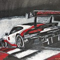 Porsche Rsr Le Mans by Richard Le Page