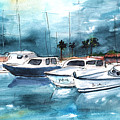 Port Alcudia Harbour 01 by Miki De Goodaboom