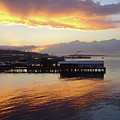 Port Angeles Sunset by William Moore