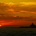 Port Boca Grande Light by Lyle  Huisken