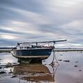 Port Carlisle Boat by Fiona Smith