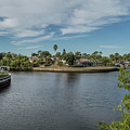Port Charlotte Adhenry Waterway From Midway by Don Kerr