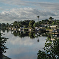 Port Charlotte Elkham Waterway From Tamiami by Don Kerr