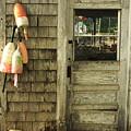 Port Clyde Door by Doug Mills