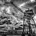 Port Crane by Ddzphoto
