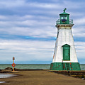 Port Dalhousie Lighthouse 1 by Jerry Fornarotto