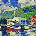 Port De Peche' by Brian Simons