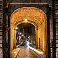 Port Dinan Archway At Night by Izet Kapetanovic