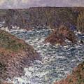 Port Domois at Belle Ile by Claude Monet
