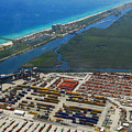 Port Everglades Florida by David Lee Thompson