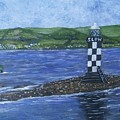 Port Glasgow, Perch Lighthouse by Neal Crossan