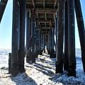 Port Hueneme Pier - Waves by Matt Harang