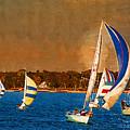 Port Huron Sailboat Race by Paul Bartoszek
