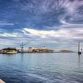 Port Melbourne Harbour by Paradigm Blue
