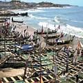 Port Of Cape Coast Ghana by Deborah Selib-Haig DMacq