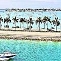 Port Of Miami - Miami, Florida by Thomas Krappweis