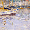 Port Of Nice by Berthe Morisot
