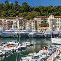Port Of Nice by Elena Elisseeva